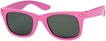 Angle of SW Kid's Retro Polarized Style #33410 in Berry Pink, Women's and Men's