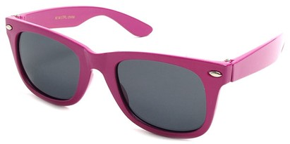 Angle of SW Kid's Retro Polarized Style #33410 in Pink Frame, Women's and Men's