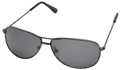 Angle of SW Kid's Aviator Style #200 in Grey Frame, Women's and Men's