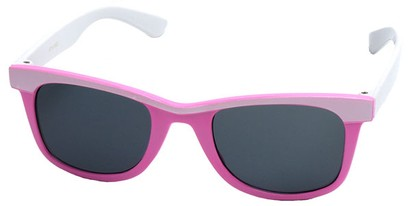 Angle of SW Kid's Style #1404 in Pink and White Frame, Women's and Men's