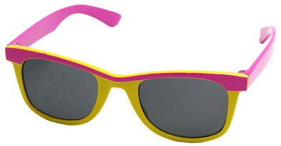 Angle of SW Kid's Style #1404 in Pink and Yellow Frame, Women's and Men's