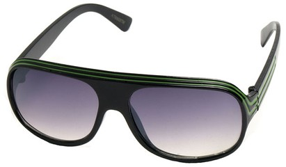 Angle of SW Kid's Style #20250 in Black Frame, Women's and Men's