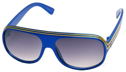 Angle of SW Kid's Style #20250 in Blue Frame, Women's and Men's