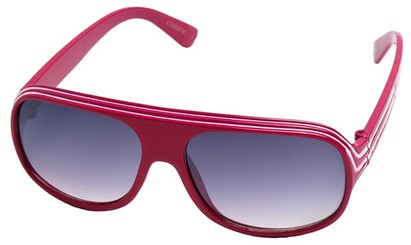 Angle of SW Kid's Style #20250 in Dark Pink Frame, Women's and Men's