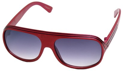 Angle of SW Kid's Style #20250 in Red Frame, Women's and Men's