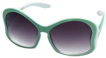 Angle of SW Kid's Butterfly Style #782 in Green Frame, Women's and Men's