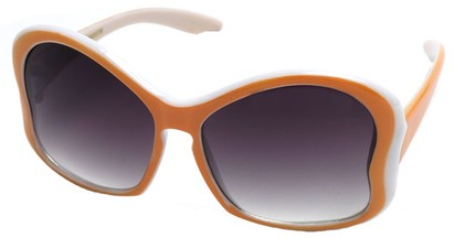 Angle of SW Kid's Butterfly Style #782 in Orange Frame, Women's and Men's