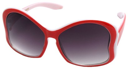 Angle of SW Kid's Butterfly Style #782 in Red Frame, Women's and Men's