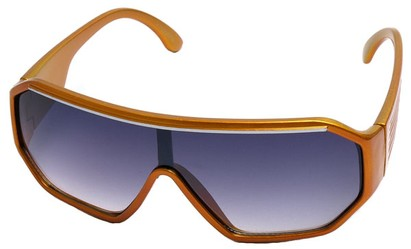 Angle of SW Kid's Style #175 in Orange Frame, Women's and Men's