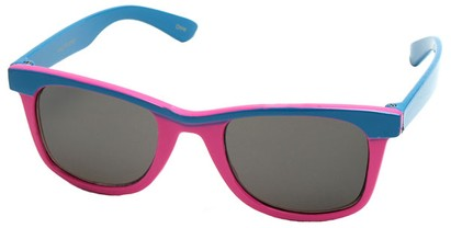 Angle of SW Kid's Retro Style #504 in Blue and Pink Frame, Women's and Men's