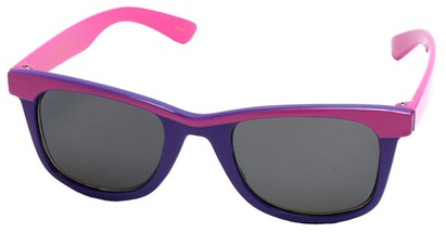 Angle of SW Kid's Retro Style #504 in Pink and Purple Frame, Women's and Men's
