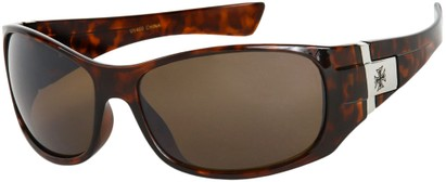 Angle of SW Fashion Style #9702 in Tortoise Frame, Women's and Men's