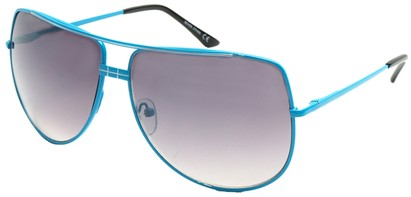 Angle of SW Aviator Style #3456 in Blue Frame, Women's and Men's