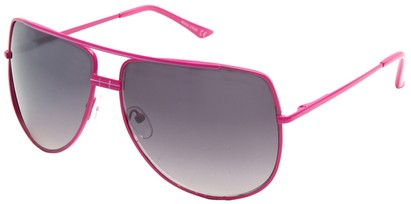 Angle of SW Aviator Style #3456 in Pink Frame, Women's and Men's