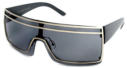 Mirrored Shield Sunglasses