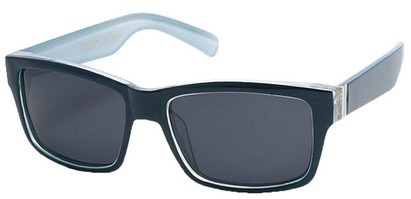 Angle of Tenby #13494 in Blue and Grey Frame, Women's and Men's Square Sunglasses