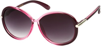 Angle of SW Round Style #9141 in Pink Fade Frame, Women's and Men's