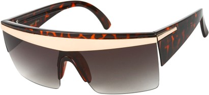Angle of SW Celebrity Style #1403 in Tortoise Frame, Women's and Men's