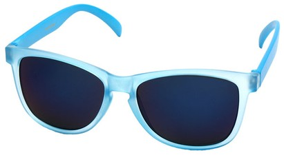 Angle of SW Neon Style #1615 in Blue Frame, Women's and Men's