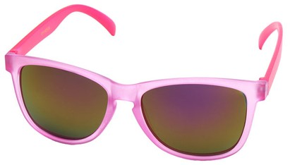 Angle of SW Neon Style #1615 in Pink Frame, Women's and Men's