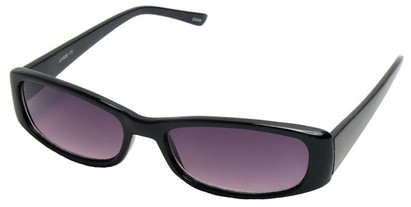 Angle of SW Fashion Style #10080 in Black Frame, Women's and Men's