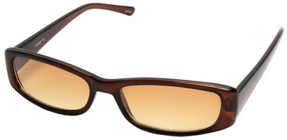 Angle of SW Fashion Style #10080 in Brown Frame, Women's and Men's