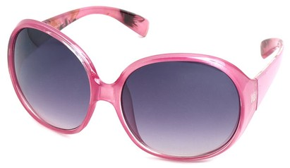 Angle of SW Oversized Style #15025 in Pink Frame, Women's and Men's