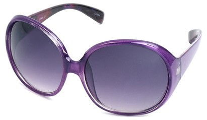 Angle of SW Oversized Style #15025 in Purple Frame, Women's and Men's