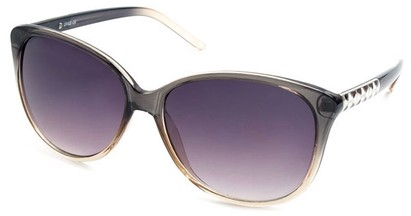 Angle of SW Cat Eye Style #3660 in Grey Frame, Women's and Men's