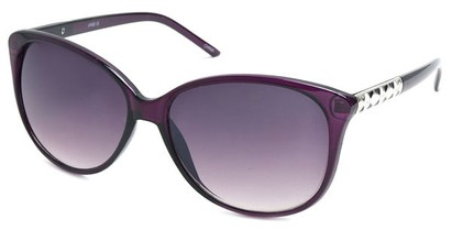 Angle of SW Cat Eye Style #3660 in Purple Frame, Women's and Men's