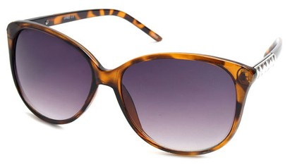Angle of SW Cat Eye Style #3660 in Tortoise Frame, Women's and Men's