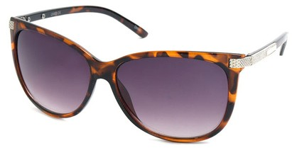 Angle of SW Cat Eye Style #61659 in Tortoise Frame, Women's and Men's
