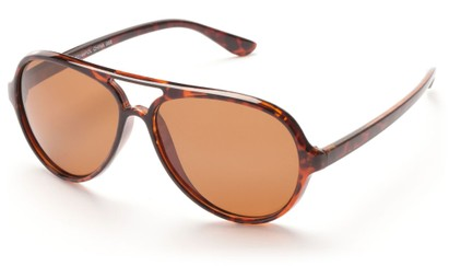 Angle of Andes #3144 in Tortoise, Men's Aviator Sunglasses