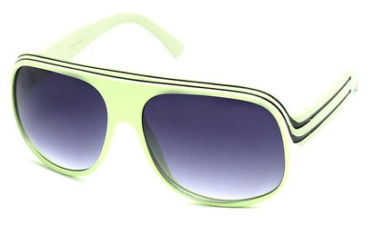 Angle of SW Celebrity Style #1961 in Lime Green and Black Frame, Women's and Men's