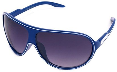 Angle of SW Kid's Celebrity Style #1353 in Navy Blue and White Frame, Women's and Men's