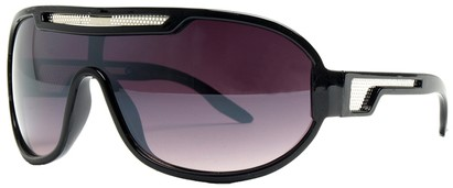 Angle of SW Neon Retro Style #8792 in Black Frame, Women's and Men's