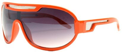Angle of SW Neon Retro Style #8792 in Orange Frame, Women's and Men's