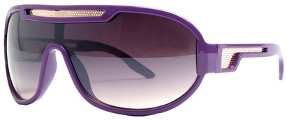 Angle of SW Neon Retro Style #8792 in Purple Frame, Women's and Men's