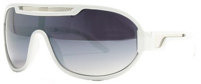 Angle of SW Neon Retro Style #8792 in White Frame, Women's and Men's