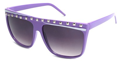 Angle of SW Rock Star Style #5020 in Purple and White Frame, Women's and Men's