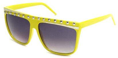 Angle of SW Rock Star Style #5020 in Yellow and White Frame, Women's and Men's