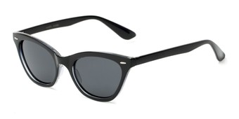 Angle of Paris #2265 in Black Frame, Women's Cat Eye Sunglasses