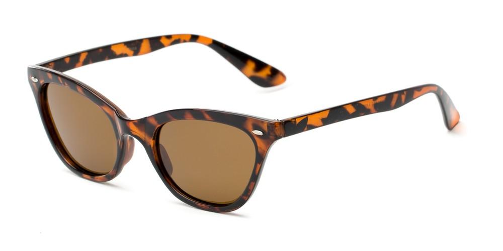 35db19a4560 Polarized Cat Eye Retro Square Style Sunglasses