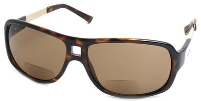 Angle of SW Aviator Bi-Focal Style #420R in Tortoise, Women's and Men's