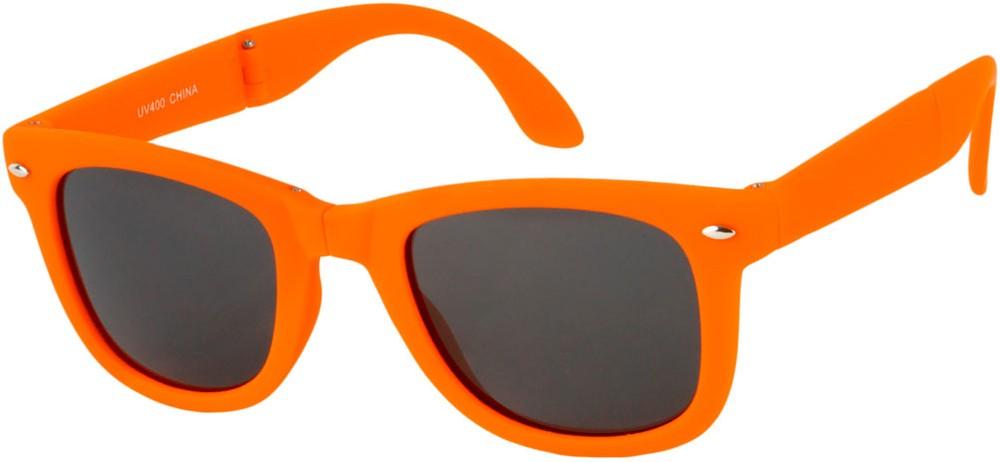 bd82f849ed Neon Foldable Retro Square Style Sunglasses