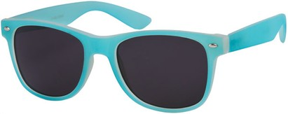 Angle of SW Retro Style #1232 in Bright Blue Frame, Women's and Men's