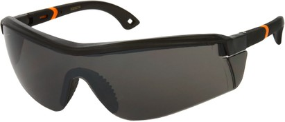 Angle of SW Sport Safety Style #465 in Grey/Orange Frame, Women's and Men's