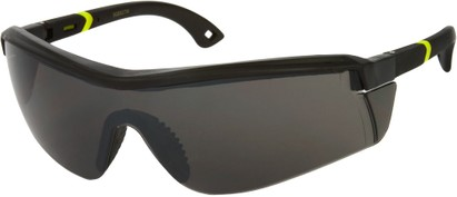 Angle of SW Sport Safety Style #465 in Black/Yellow Frame, Women's and Men's