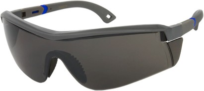 Angle of SW Sport Safety Style #465 in Grey/Blue Frame, Women's and Men's