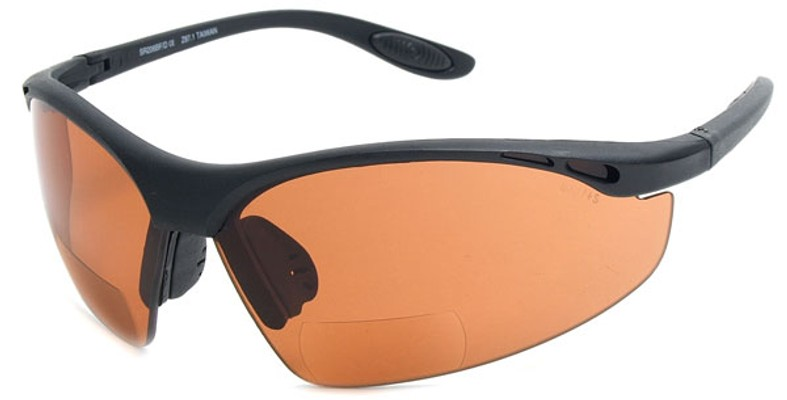 9dcb844367 Bifocal Driving Sunglasses with Amber Colored Safety Lenses